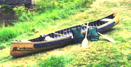 Sportspal 15' SQ. Stern Canoe Package by Meyers sportspal0015
